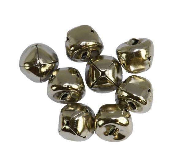 Schellen - 8er Pkg., Ø 15 mm, silberfarbig
