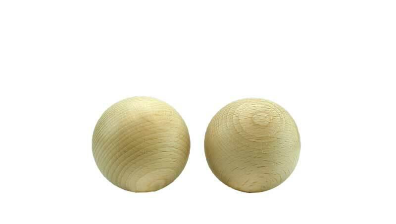 Houten ballen zonder boorgat - 100 st., Ø 8 mm