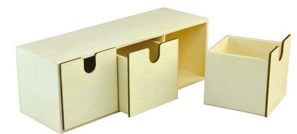 Organisateur de bureau, env. 29 x 10 x 10 cm
