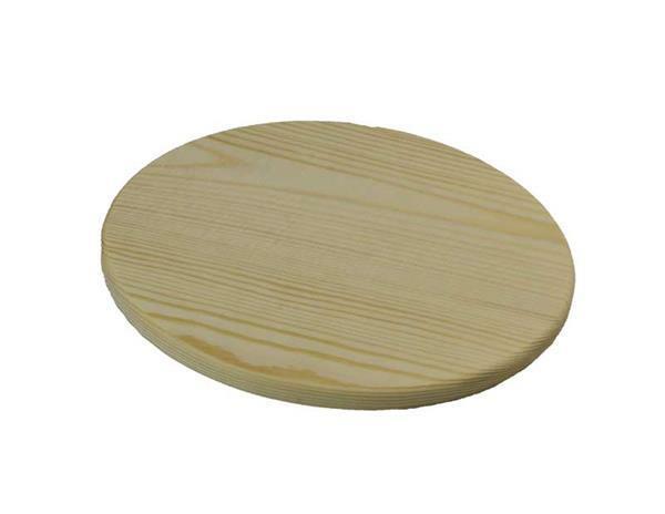 Houten plank Ø 21 cm