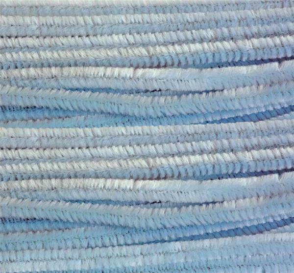 Chenilledraht - 10 Stk., 50 cm, himmelblau