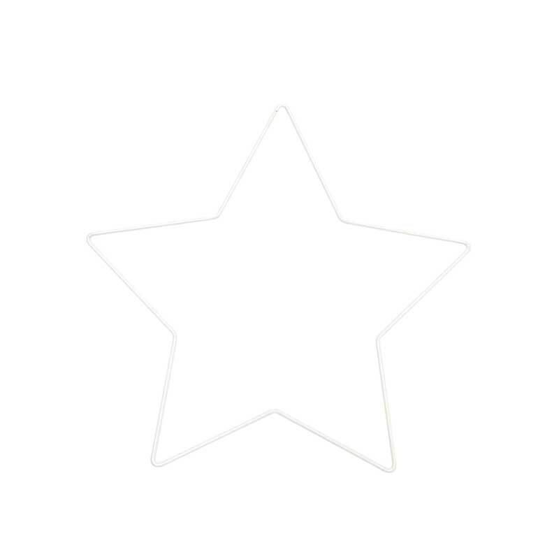 Metallring - Stern, 21 cm