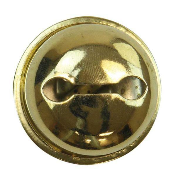 Belletjes - 10 st./pak, Ø 25 mm, goud