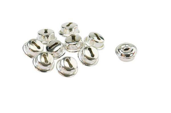 Grelots - 10 pces, Ø 10 mm, argent
