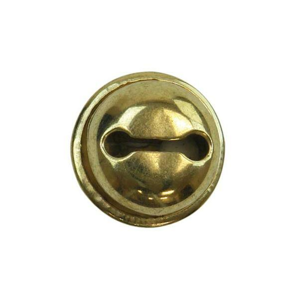 Schellen - 10er Pkg., ca. Ø 20 mm, gold