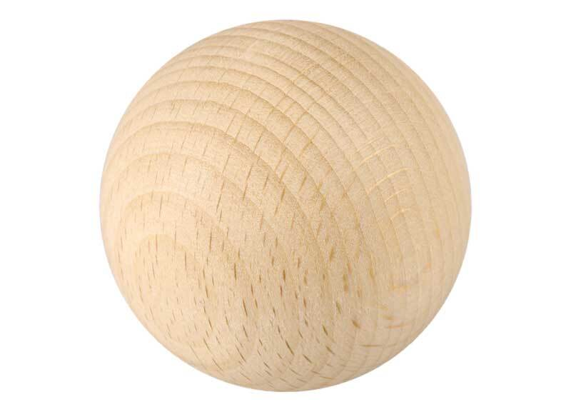 Holzkugeln - 10er Pkg., Ø 50 mm, ohne Bohr.