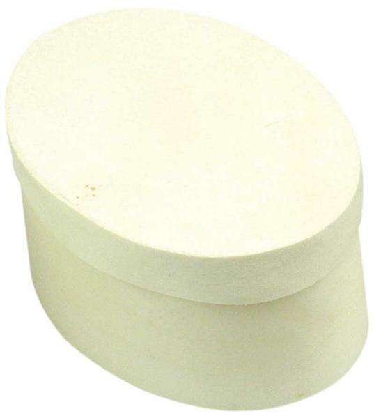 Boîte copeaux - ovale, 100 x 70 x 50 mm