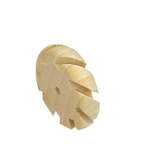 Houten wiel met gleuven - Ø 40 mm, boring 4 mm
