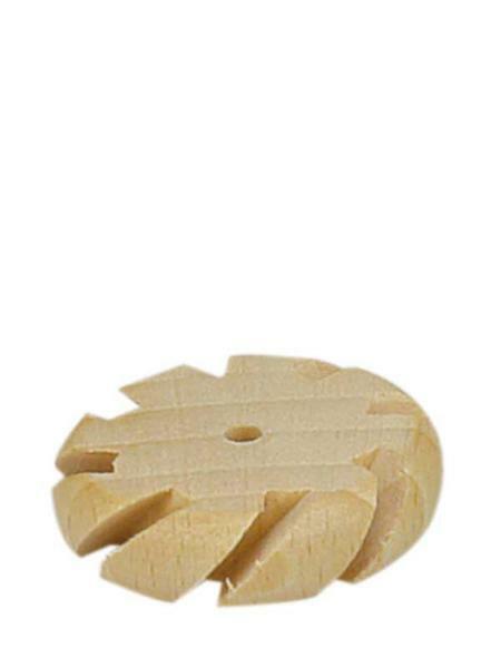 Holzrad geschlitzt - Ø 40 mm, Bohr. 4 mm,  8