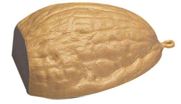 Coquille de noix en plastique