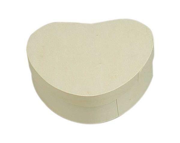 Boîte copeaux - cœur, 120 x 110 x 35 mm
