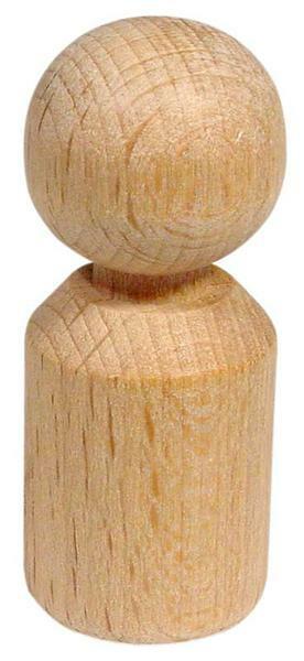 Pion - hauteur 50 mm, Ø 20 mm, cylindrique