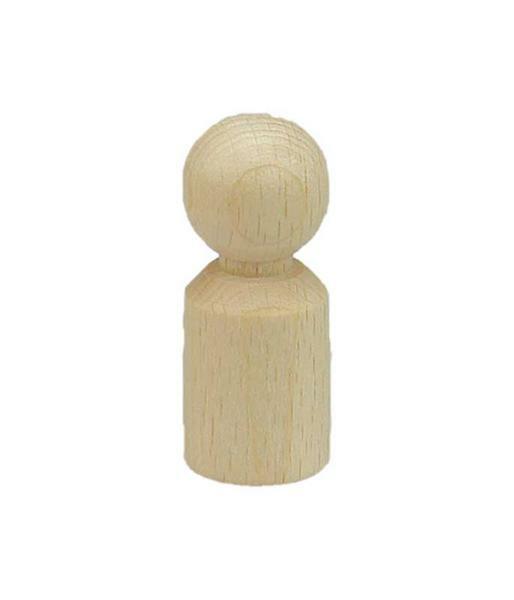 Figurenkegel - 50 mm Höhe, Ø 20 mm zylind.