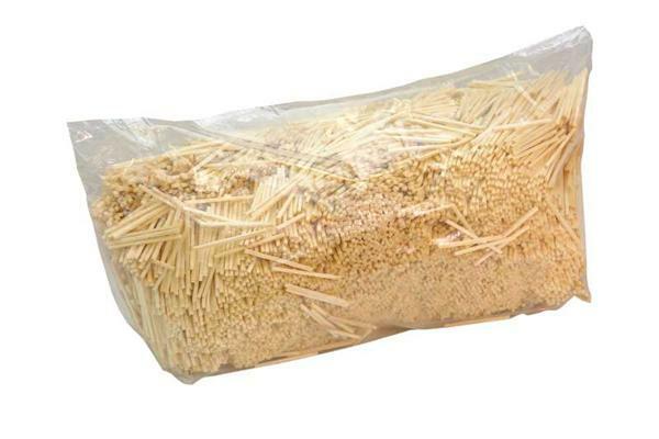 Luciferhoutjes - naturel, ca. 1000 g