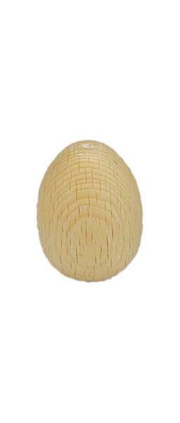Œuf en bois, 30 / 40 mm