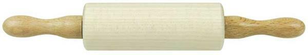 Buchenholz Knetroller, 210 x 35 mm