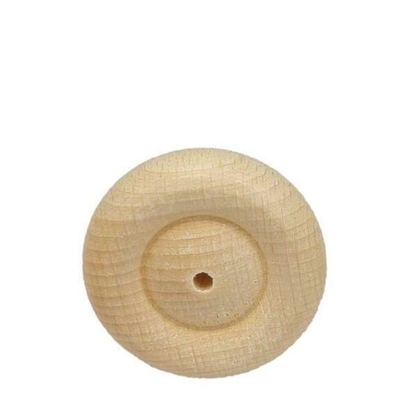 Roues en bois profilées - 10 pces, Ø 40 mm