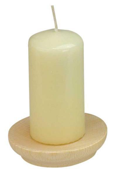 Kerzenschale - mit Spitze, Ø 92 mm