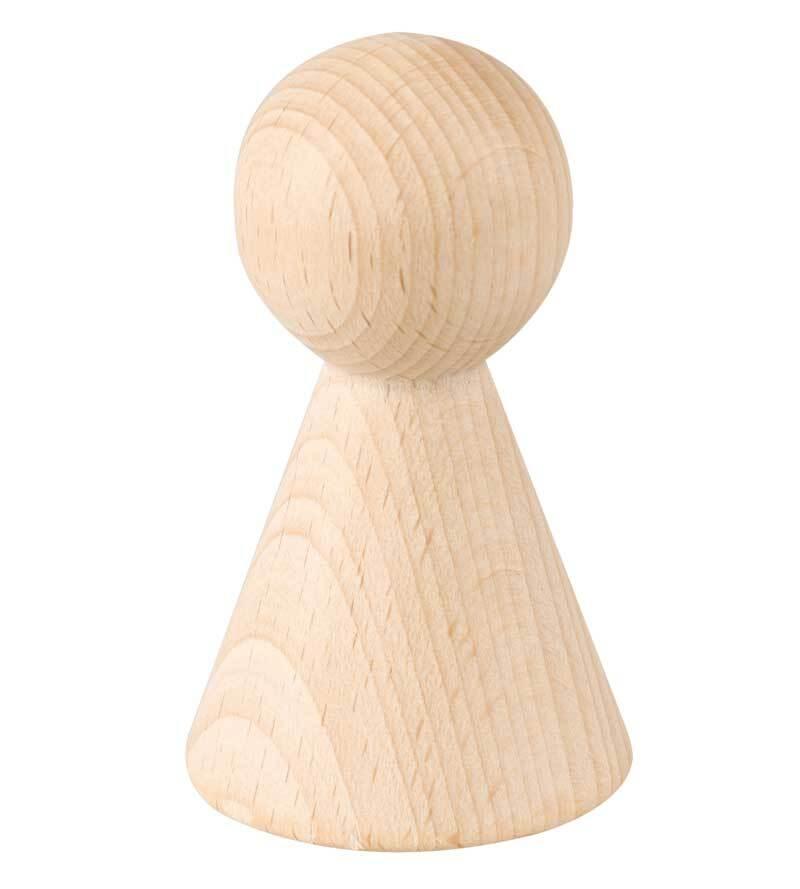 Figurenkegel - 70 mm Höhe, Ø 42 mm