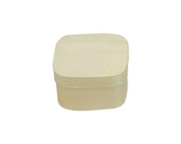 Houten doosje - vierkant, 70 x 70 x 40 mm