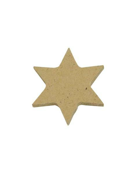 Sterne - 24er Pkg., natur