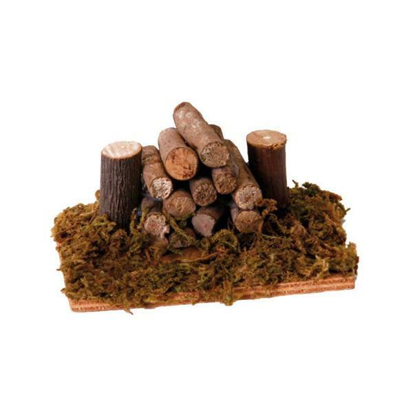 Pile de bois miniature