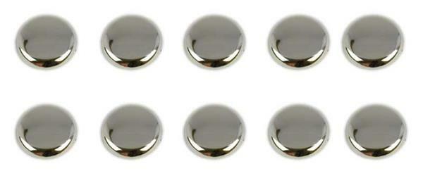 Platte magneten - 10 stuks/pak, Ø 20 mm, 8 mm dik