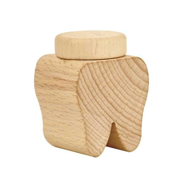 Holzdose Zahn
