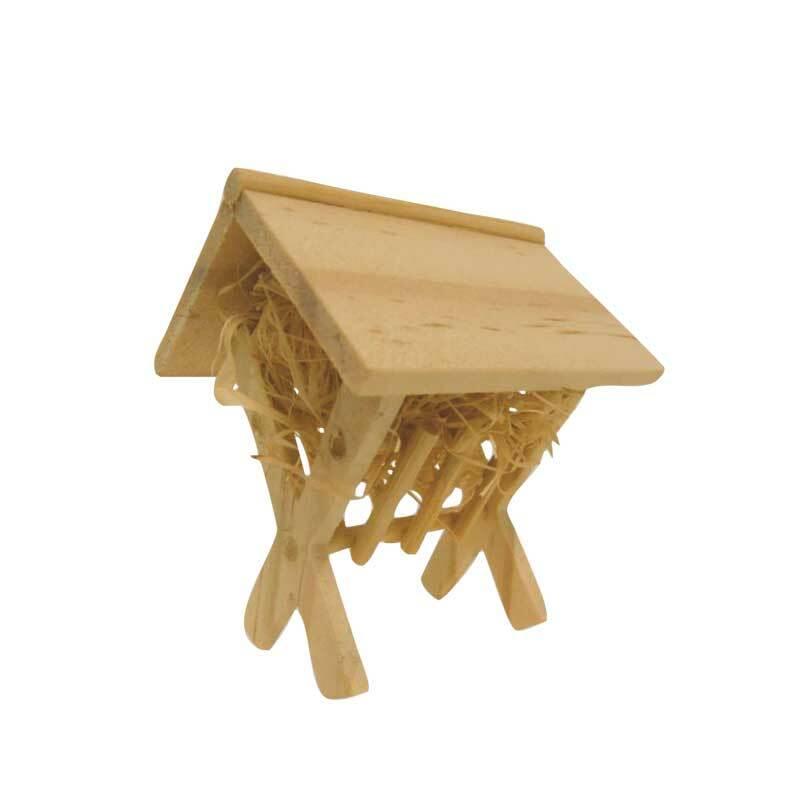 Mangeoire à foin en bois