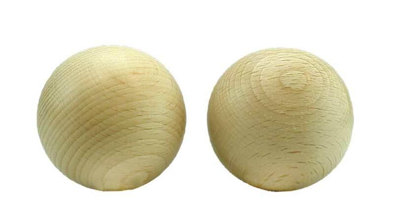 Houten ballen zonder boorgat - 10 st., Ø 40 mm