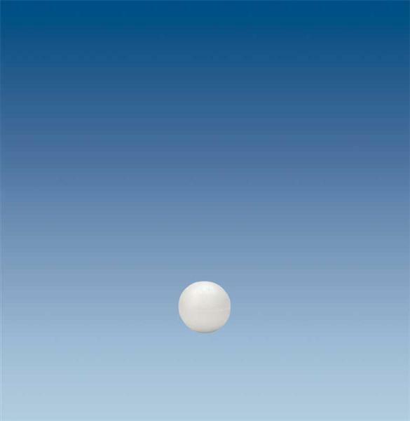 Polystyrène expansé - sphère, Ø 4 cm