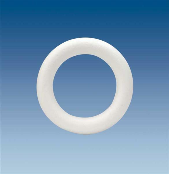 Polystyrène expansé - anneau, Ø 17 x 3 cm