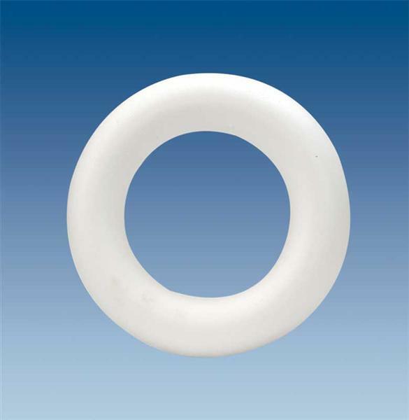 Polystyrène expansé - anneau, Ø 22 x 4,5 cm