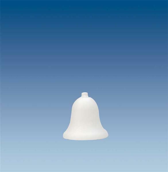 Tempex - klok, 7 x 8,5 cm