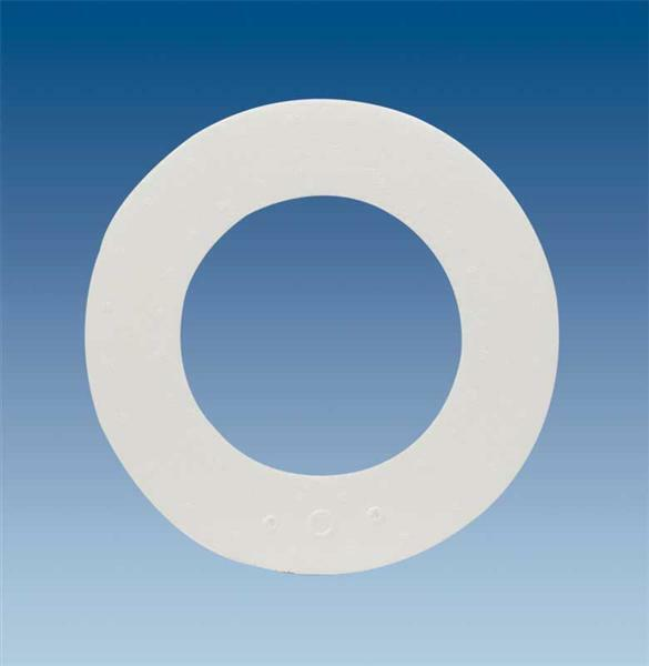 Polystyrène expansé - anneau, Ø 20 x 2,5 cm