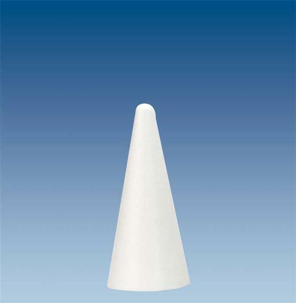 Styropor - Kegel, Ø 9 x 20 cm