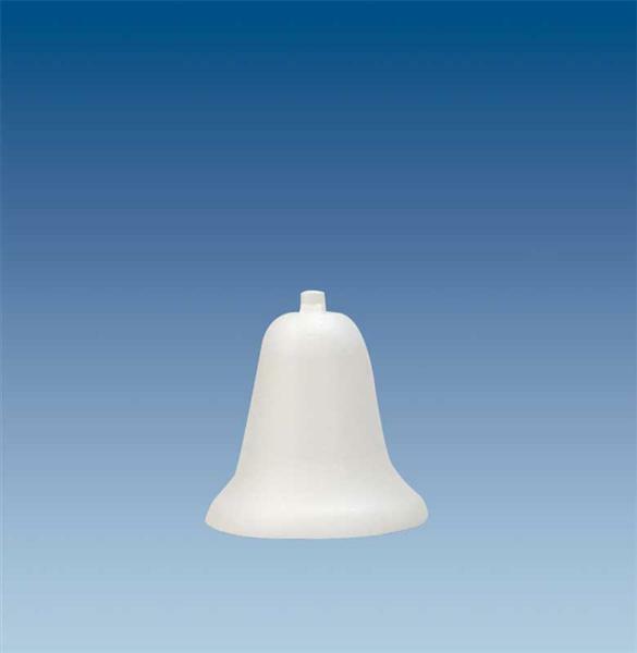 Tempex - klok, 9 x 11,5 cm
