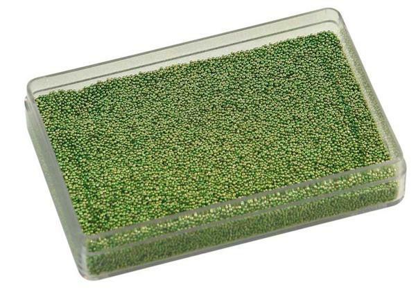 Glazen balletjes - 20 g, groen