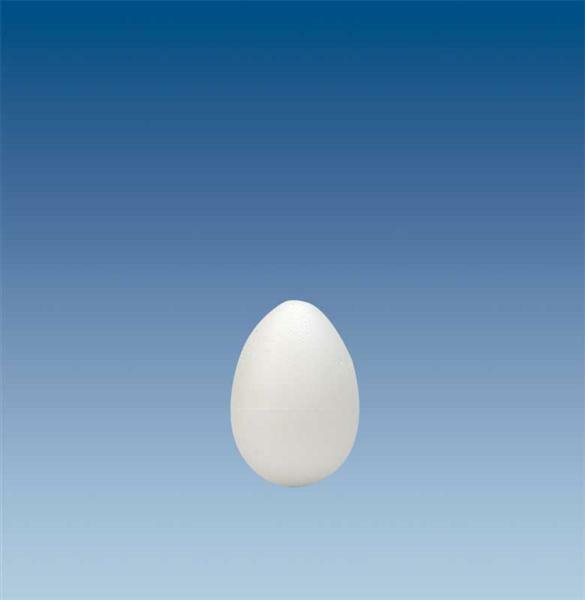 Polystyrène expansé - œuf, 10 cm
