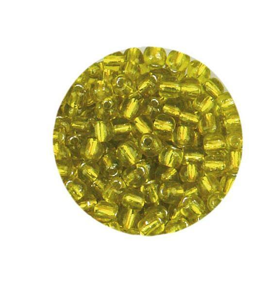 Rocailles - Ø 2,6 mm, geel
