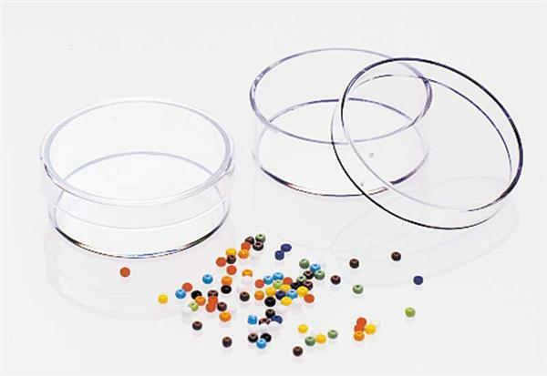Dose Rund glasklar - 2-teilig, Ø 40 x 15 mm