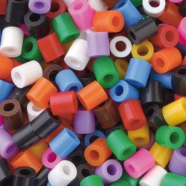 Perles à repasser - 3500 pces, coloris standard