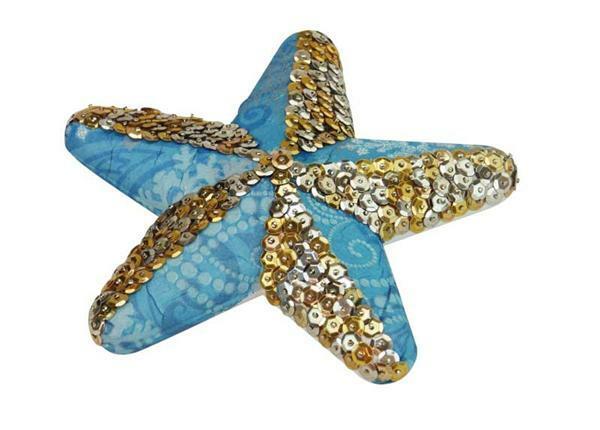 Polystyrène expansé - étoile, 15 cm