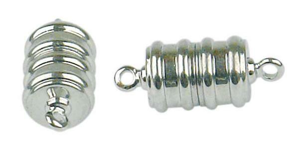 Magnetverschluss - 2 Stk./Pkg., silberfarbig/groß