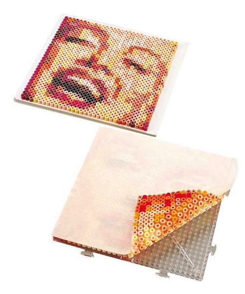 Zelfklevende folie voor strijkkralen