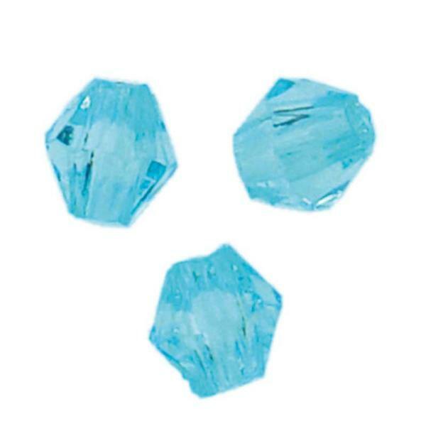 Acrylkralen - Ø 4 mm, aqua