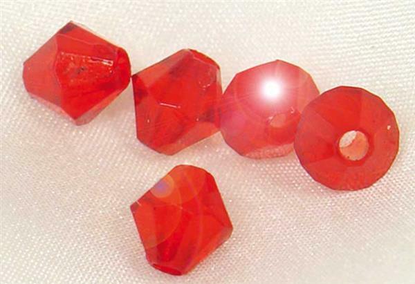 Acrylperlen Ø 4 mm, rot