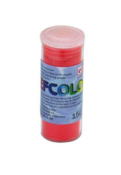 Glazuurpoeder - 10 ml, aardbei