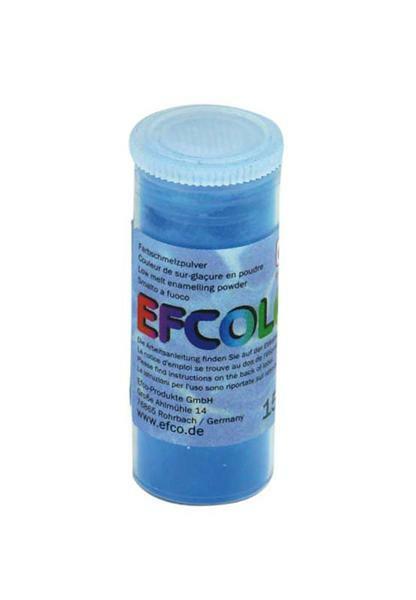 Gekleurd glazuurpoeder - 10 ml, blauw