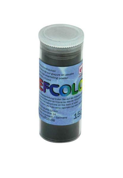 Glazuurpoeder - 10 ml, zwart